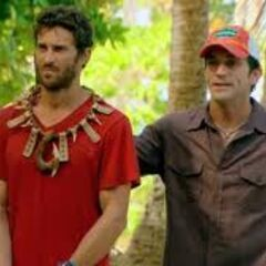 Mick after winning individual immunity.