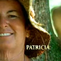 Patricia in the opening credits.