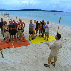 Jeff explaining the rules to the very first challenge ever.