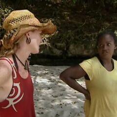 Cirie with Courtney.
