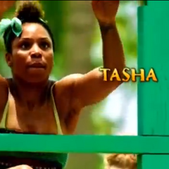 Tasha's first motion shot in the intro.