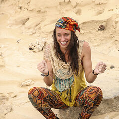 Michelle at the beach.