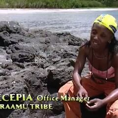 Vecepia describes the tribe's attempt to make fire.