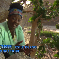 Cirie making a confessional.