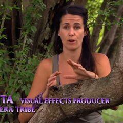 Sarita making a <a href=