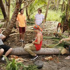 Vanua at camp.