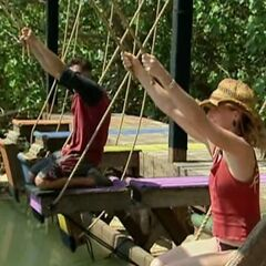 Terry vs Courtney for immunity
