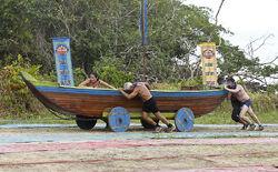 Chan loh kaoh rong wooden ships
