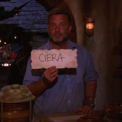 Jeff votes against Ciera.
