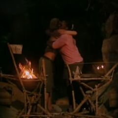 Danielle hugs Cirie