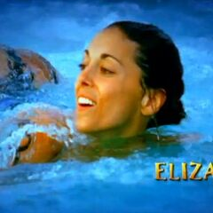 Eliza's motion in the opening.