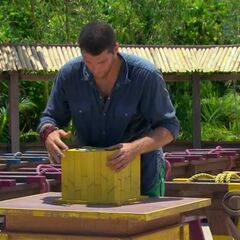 John finishing his puzzle at the 3rd Redemption duel, <a href=