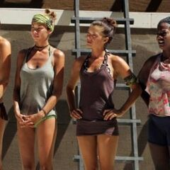 Cirie before the Final Four Immunity Challenge.