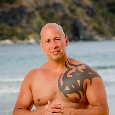 Tony's Alternate promotional photo for <i>Survivor: Game Changers</i>.