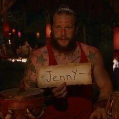Jason votes against Jennifer.