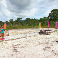 Orkun before the final eight Immunity Challenge, <i><a href=