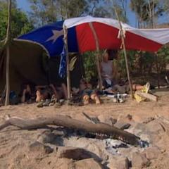 Ogakor's first shelter.