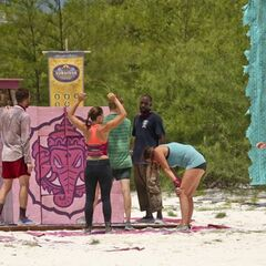 Bayon has won the fourth Immunity Challenge.