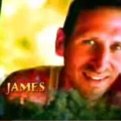 James' picture in the opening of <i>Survivor: Palau</i>.