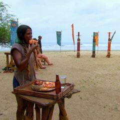 Natalie steps down from the challenge for pizza.