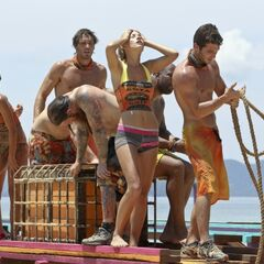 Hope with the Gota tribe at her last challenge.