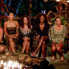 The final 6 at Tribal Council