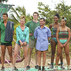 Luzon tribe before the Immunity Challenge