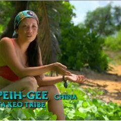 Peih-Gee making a <a href=
