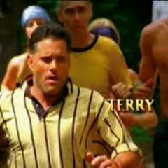 Terry's motion shot in the opening.