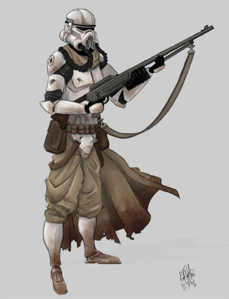 star wars clonetrooper concept - photo #26