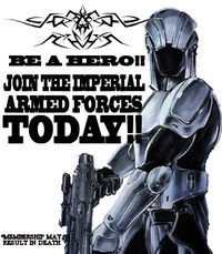 Sith Military Poster