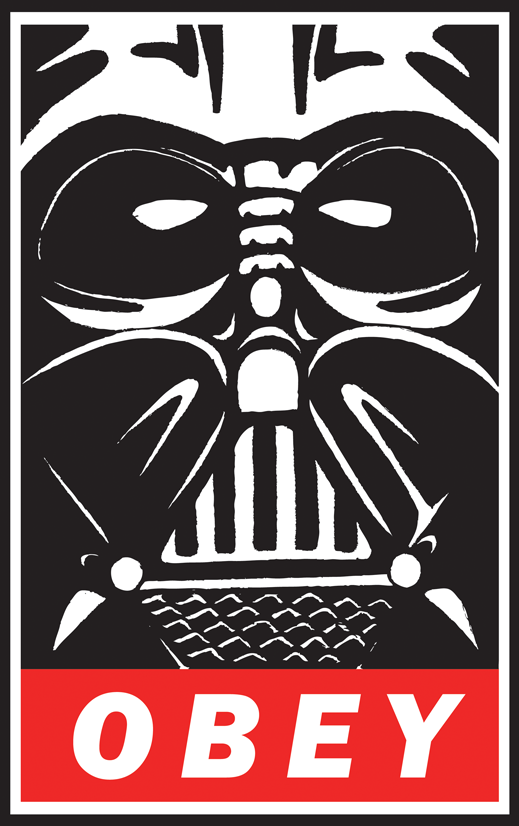 Image - Obey vader by goofoofighter-d3g3bj8.png | Star ...