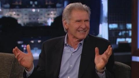 Harrison Ford Won't Answer Star Wars Questions