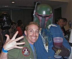 Seth Green with Boba Phat
