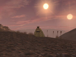 Dual Sunsets on Tatooine 02