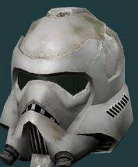 Scarred Helmet