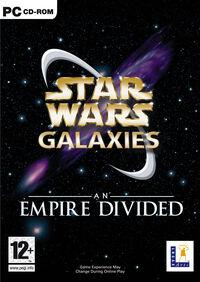 Star Wars Galaxies - An Empire Divided cover art