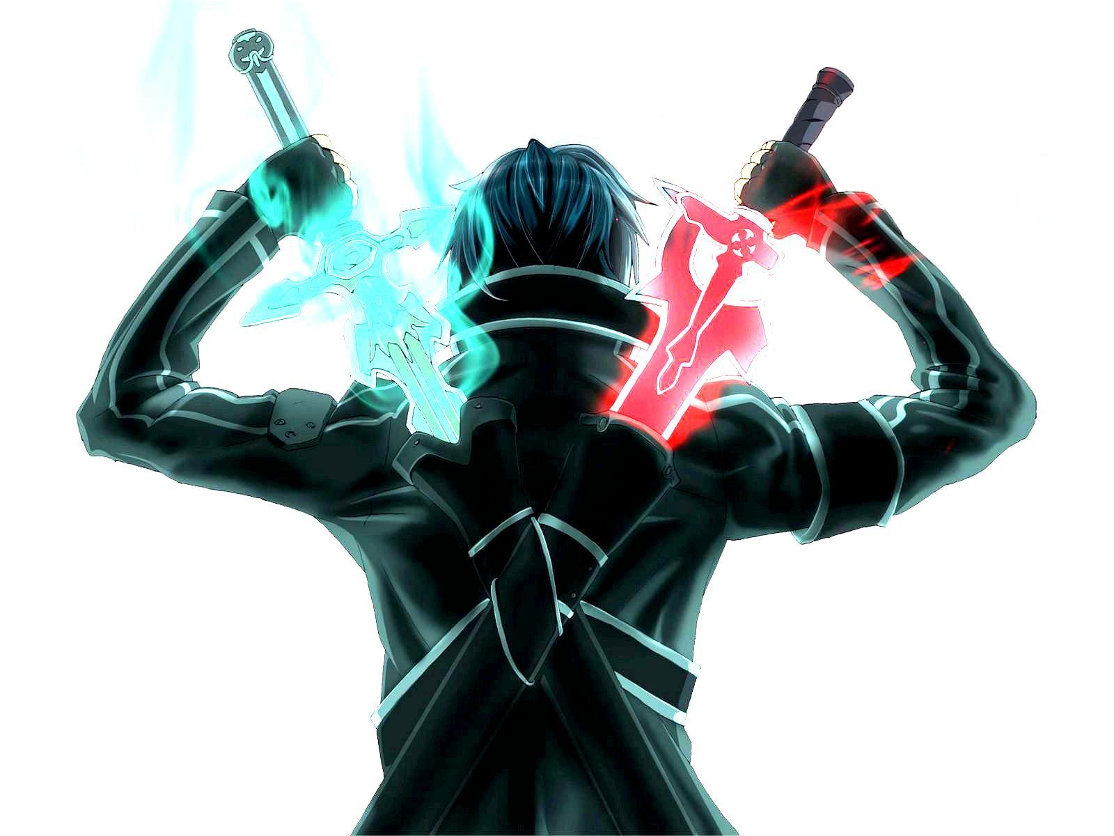Image result for kirito's swords