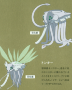 Tonky character designs (booklet)