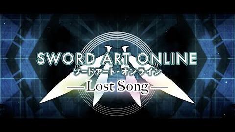 Sword Art Online Lost Song Launch Trailer PS4, PSVita