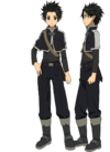 Kirito's Initial Avatar Full Body