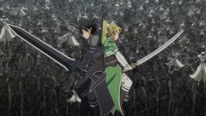 SAO 23 Kirito Leafa