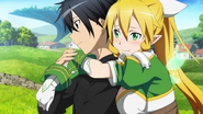 Kirito and Leafa H-F