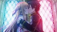 Kirito and Asuna's remarriage