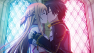 Kirito and Asuna's remarriage