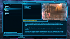 Codex interface
