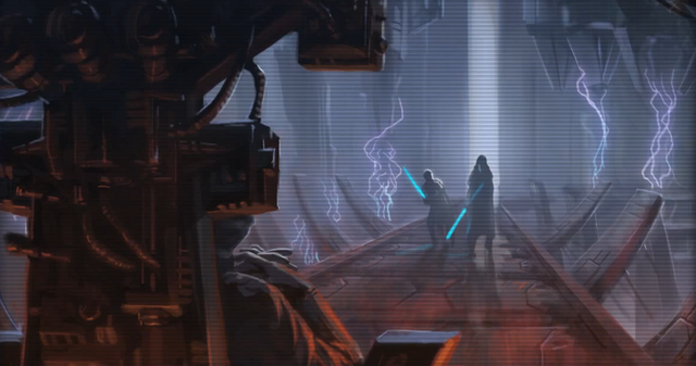 File:Revan and Malak confronting the Emperor.png