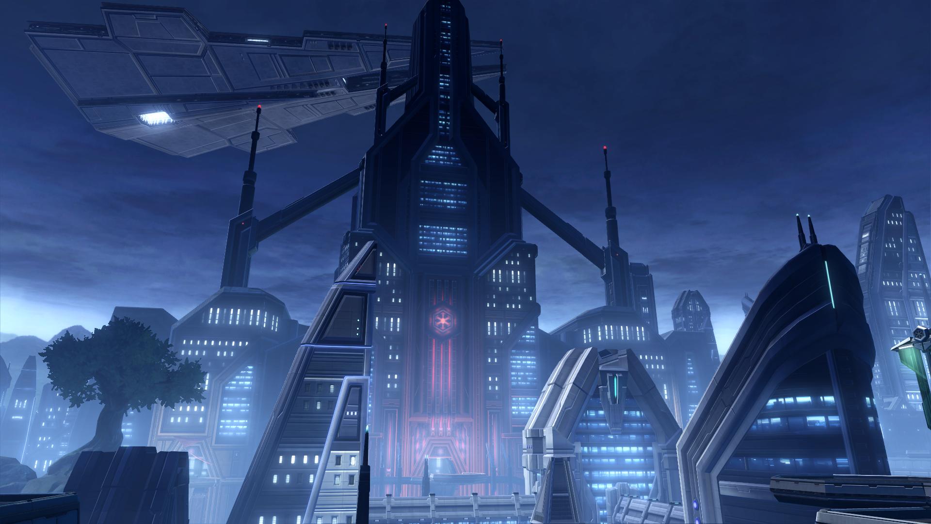 Imperial Citade... Zabrak Jedi And Sith