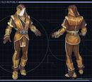 Jedi garments