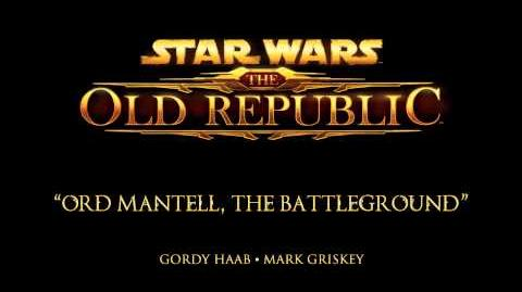 Ord Mantell, The Battleground - The Music of STAR WARS The Old Republic